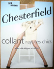 collant chesterfield rayures chics