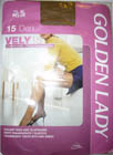 collant golden lady vely 15