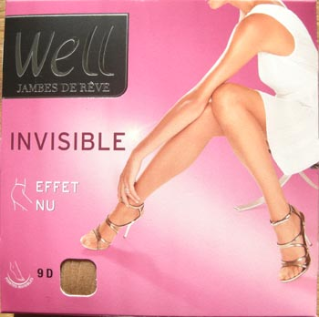 collant legging bas well jambes de rêve invisible
