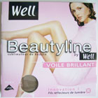 collant legging bas well beautyline voile brillant