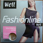 collant legging bas well voile stretch satiné