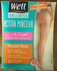 collant legging bas well wellness action minceur