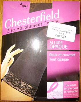collant bas  up chesterfield allure opaque terre