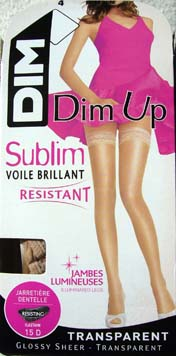 collant bas dim up sublim voile brillant