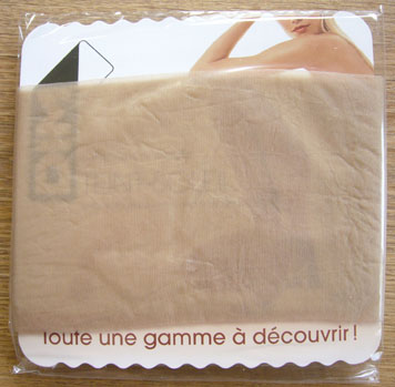 collant dim sublim voile brillant gingembre