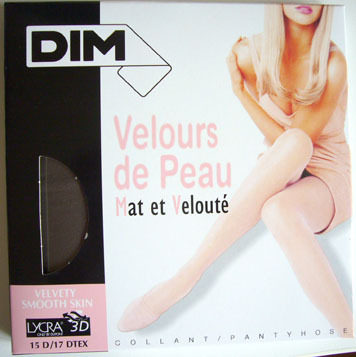 collant bas dim Velours de peau