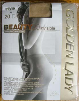 collant bas Golden Lady Beauty invisible