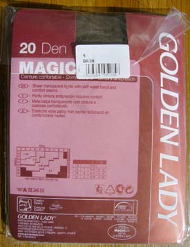 collant bas Golden Lady Magic 20