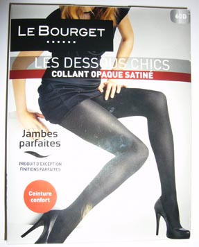 collant bas Le Bourget dessous chic opaque satiné 3185290724687