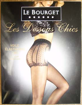 collant bas Le Bourget dessous chic shorty