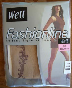 collant bas Fashionline Art nouveau