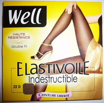 collant bas well Elastivoile indestructible