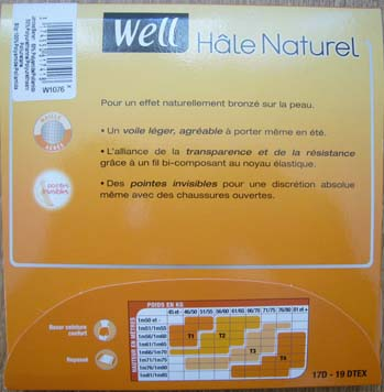 collant bas Well Beautyline Voile brillant